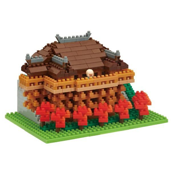 カワダKAWADAナノブロックNBH-194清水寺