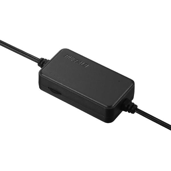 BUFFALOバッファローBSSP108UBKPCスピーカーブラック[USB電源]