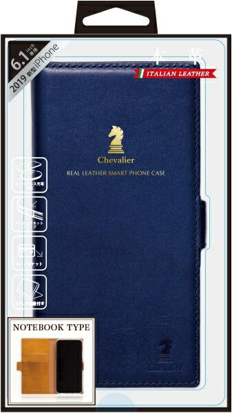 ナチュラルデザインNATURALdesigniPhone116.1インチ専用本革手帳型ケースChevalierNAVYiP19_61-CHE04