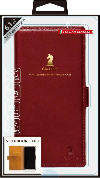 ナチュラルデザインNATURALdesigniPhone116.1インチ専用本革手帳型ケースChevalierREDiP19_61-CHE05