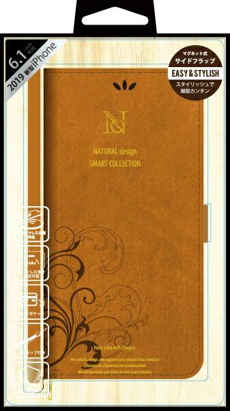 ナチュラルデザインNATURALdesigniPhone116.1インチ専用手帳型ケースSMARTCOVERCAMELiP19_61-SC05