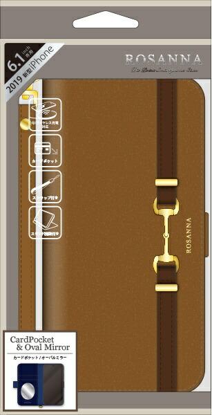 ナチュラルデザインNATURALdesigniPhone116.1インチ専用手帳型ケースROSANNACAMELiP19_61-RN03
