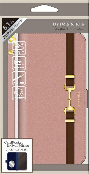 ナチュラルデザインNATURALdesigniPhone116.1インチ専用手帳型ケースROSANNAPINKiP19_61-RN04