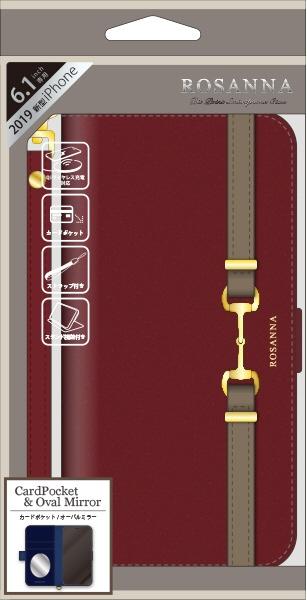 ナチュラルデザインNATURALdesigniPhone116.1インチ専用手帳型ケースROSANNABORDEAUXiP19_61-RN05