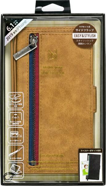 ナチュラルデザインNATURALdesigniPhone116.1インチ専用手帳型ケースz-lineCameliP19_61-ZL04