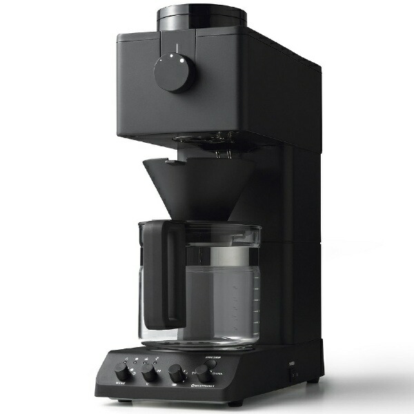 ツインバードTWINBIRDCM-D465Bコーヒーメーカー[全自動/ミル付き][CMD465B]