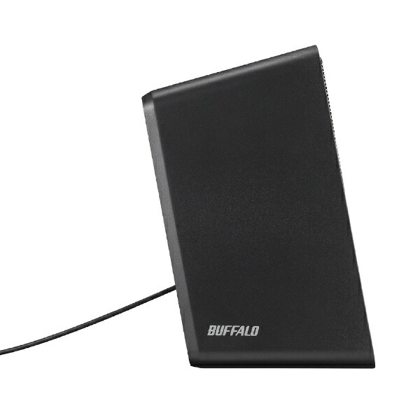 BUFFALOバッファローBSSP308UBKPCスピーカーブラック[USB電源]