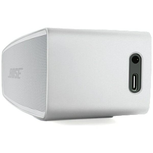 BOSEボーズブルートゥーススピーカーSLminiIISESLVLuxeSilver[Bluetooth対応][ボーズスピーカーサウンドリンクミニ2]