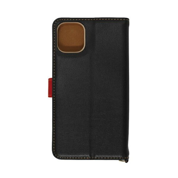 ラスタバナナRastaBananaiPhone116.1インチモデル手帳+COLORケース5053IP961BOブラック×レッド