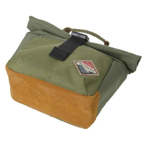 エツミETSUMIE-3545バックラーロールバッググリーン/カーキ