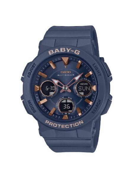 カシオCASIO[ソーラー電波時計]BABY-G(ベイビーG)アースカラーモデルBGA-2510-2AJF