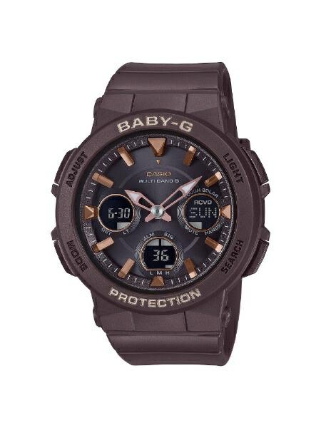 カシオCASIO[ソーラー電波時計]BABY-G(ベイビーG)アースカラーモデルBGA-2510-5AJF