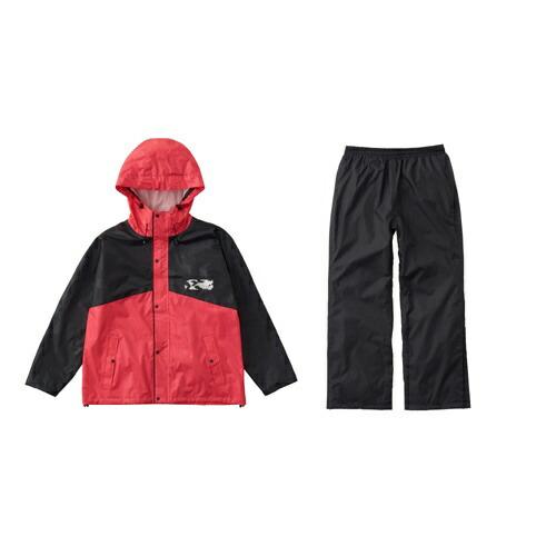 ロゴスLOGOSメンズレインウェアレインコンフォート撥柄スーツ(マゼンタ/LLサイズ)28743411