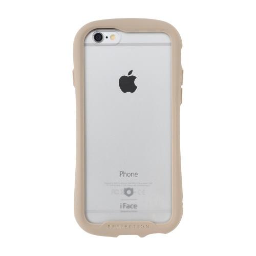 HAMEEハミィ[iPhone6s/6専用]iFaceReflection強化ガラスクリアケース41-907474ベージュ