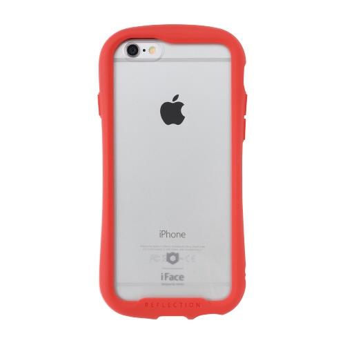 HAMEEハミィ[iPhone6s/6専用]iFaceReflection強化ガラスクリアケース41-907467レッド