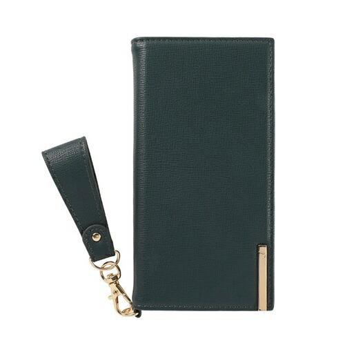 HAMEEハミィiPhoneSE(第2世代)4.7インチ/iPhone8/7/6s/6専用salisty(サリスティ)Qサフィアーノスタイルダイアリーケース276-913703ビリジアン