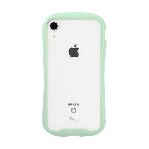 HAMEEハミィ[iPhoneXR専用]iFaceReflectionPastel強化ガラスクリアケース41-914519ミント