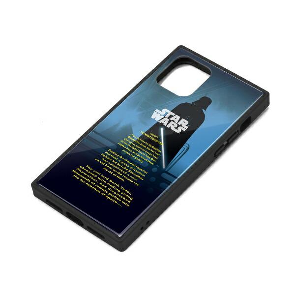 PGAiPhone11Pro用ガラスハイブリッドケースダース・ベイダーPG-DGT19A30SWダース・ベイダー