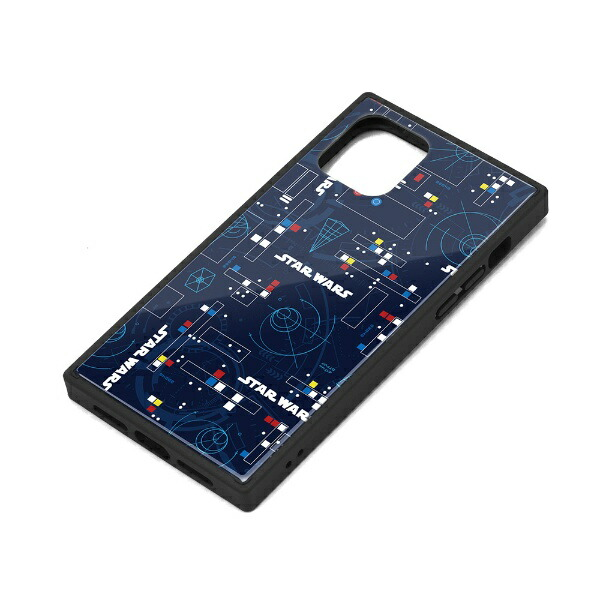 PGAiPhone11Pro用ガラスハイブリッドケースパターンPG-DGT19A34SWパターン