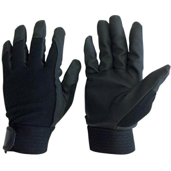 AMAGユニワールドWORKSHOMME合成皮革手袋ブラックM2510-BK-M