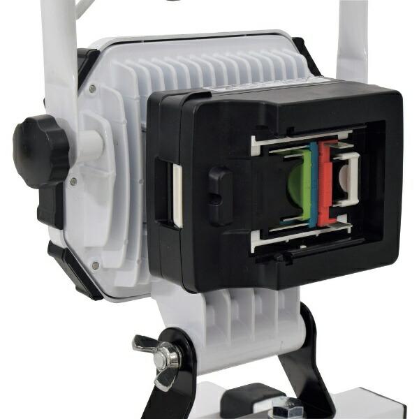日動工業NICHIDO日動充電式LED着脱式ハンガーチャージライトスポット20Wマルチチェンジャー付BAT-HRE20SMC-SP