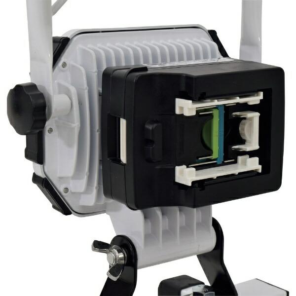 日動工業NICHIDO日動充電式LED着脱式ハンガーチャージライトスポット40Wマルチチェンジャー付BAT-HRE40SMC-SP