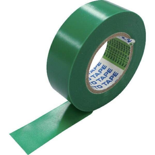 日東Nitto日東脱鉛タイプビニールテープNo.21S25mm×20m緑8巻入り21-25GN