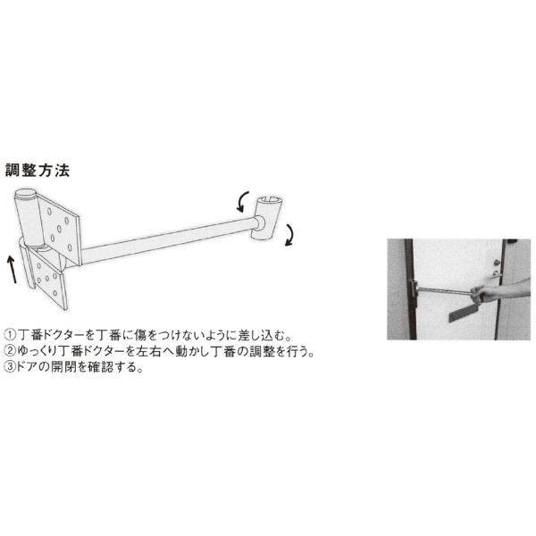 土牛産業DOGYUDOGYU丁番ドクターM01942