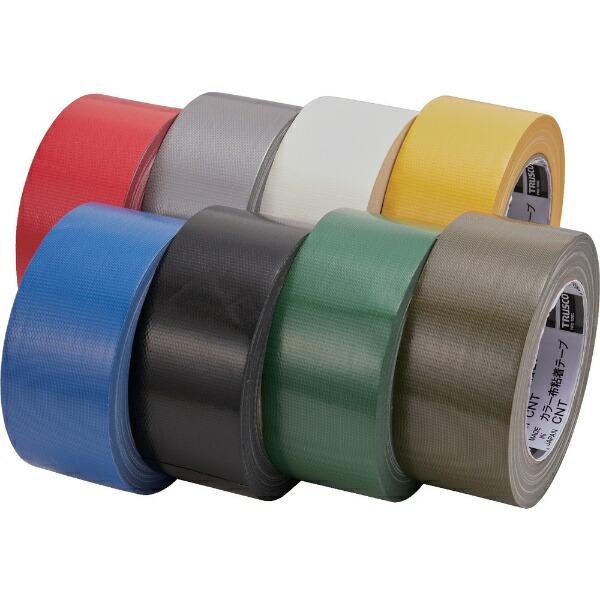 トラスコ中山TRUSCOカラー布粘着テープ幅50mm長さ25mブルーCNT-5025-B