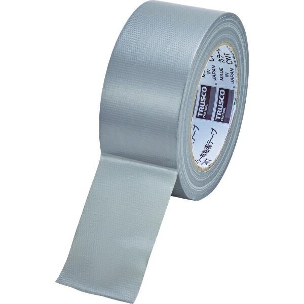 トラスコ中山TRUSCOカラー布粘着テープ幅50mm長さ25mシルバーCNT-5025-SV