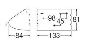 三栄水栓SANEISANEIステンレスペーパーホルダー厚板製W33