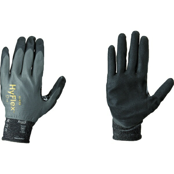 アンセルAnsellアンセル耐切創手袋ハイフレックス11−939フルコーティングSサイズ11-939-7