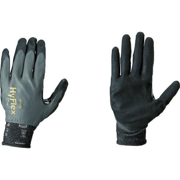 アンセルAnsellアンセル耐切創手袋ハイフレックス11−939フルコーティングLサイズ11-939-9