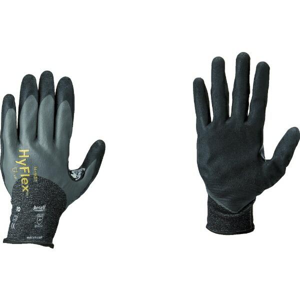 アンセルAnsellアンセル耐切創手袋ハイフレックス11−9373/4コーティングLサイズ11-937-9