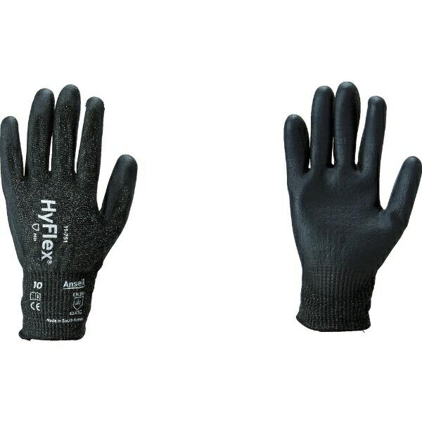 アンセルAnsellアンセル耐切創手袋ハイフレックス11−751Mサイズ11-751-8