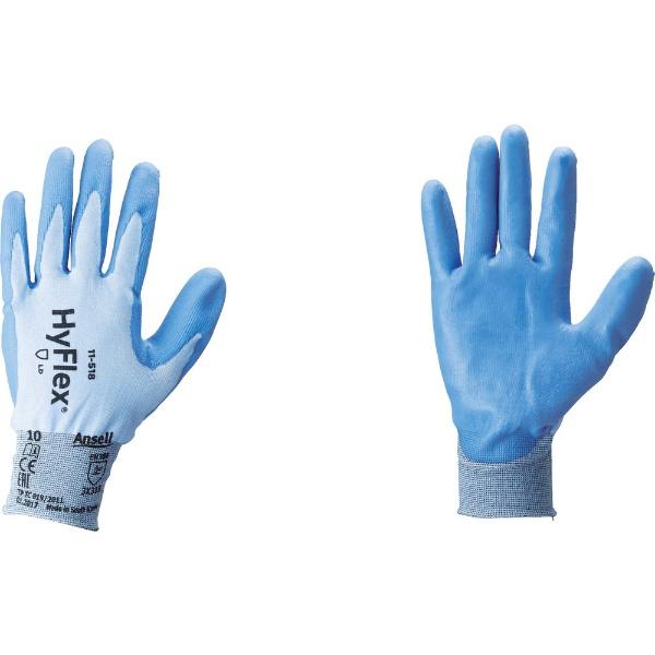 アンセルAnsellアンセル耐切創手袋ハイフレックス11−518Lサイズ11-518-9