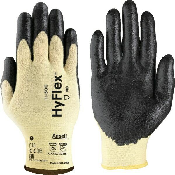 アンセルAnsellアンセル耐切創手袋ハイフレックスCR11−500M11-500-8