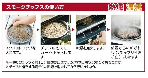 新富士バーナーShinfujiBurnerSOTOスモークチップスミニ(ヒッコリー/100g)ST-1534
