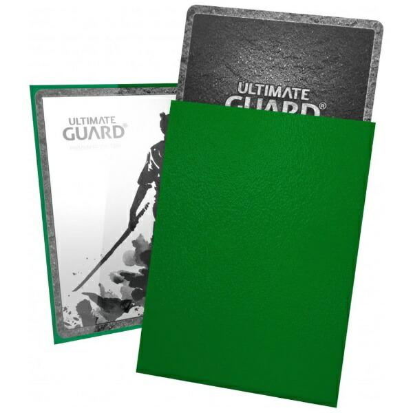 アルティメットガードUltimateGuardKATANAスリーブスタンダードサイズ緑(100枚入り)