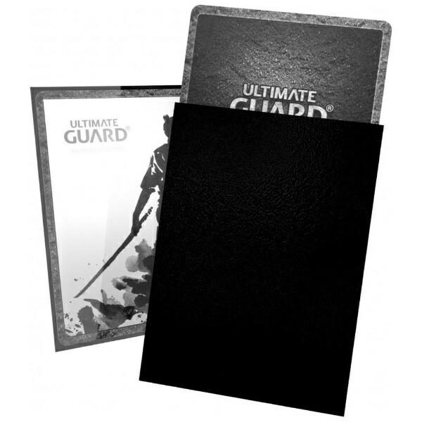 アルティメットガードUltimateGuardKATANAスリーブスタンダードサイズ黒(100枚入り)
