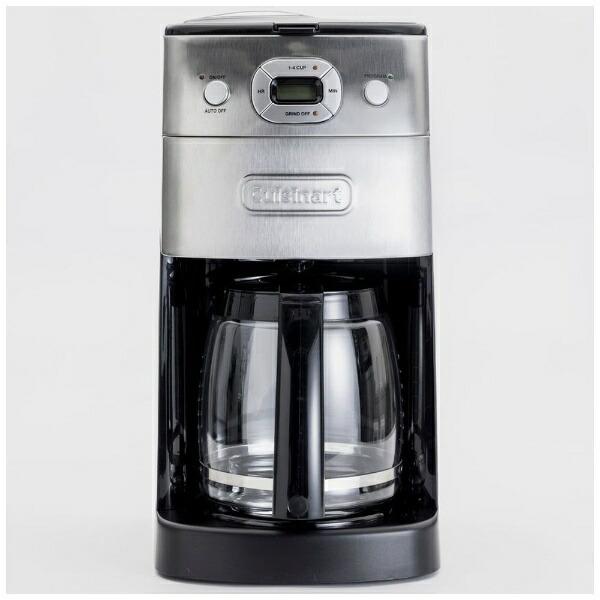 クイジナートCuisinart10カップミル付全自動コーヒーメーカー豆・粉両対応、予約プログラム付DGB-625J[全自動/ミル付き][DGB625J]