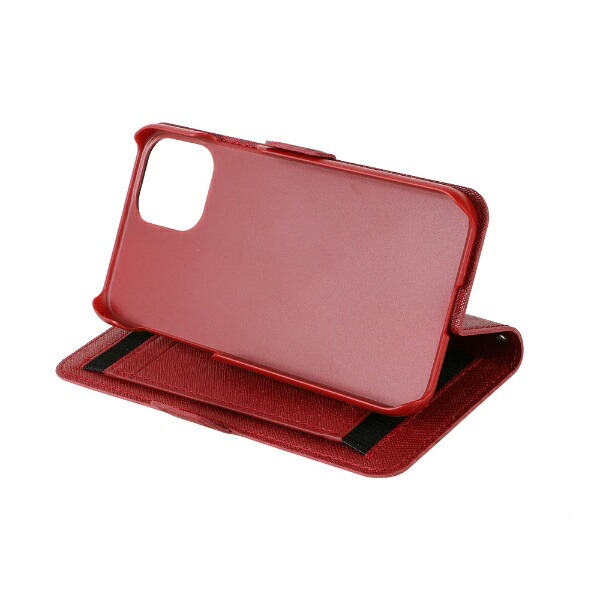 ラスタバナナRastaBananaPBiPhone11ProSFA調落下防止手帳ケースBKS134IP958BOウォームレッド