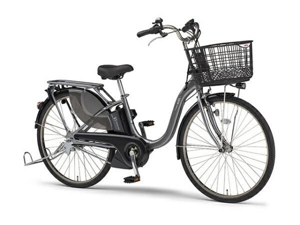ヤマハYAMAHA24型電動アシスト自転車PASWithSP(グレーメタリック/内装3段変速)20PA24WSP【2020年モデル】【組立商品につき返品不可】【代金引換配送不可】