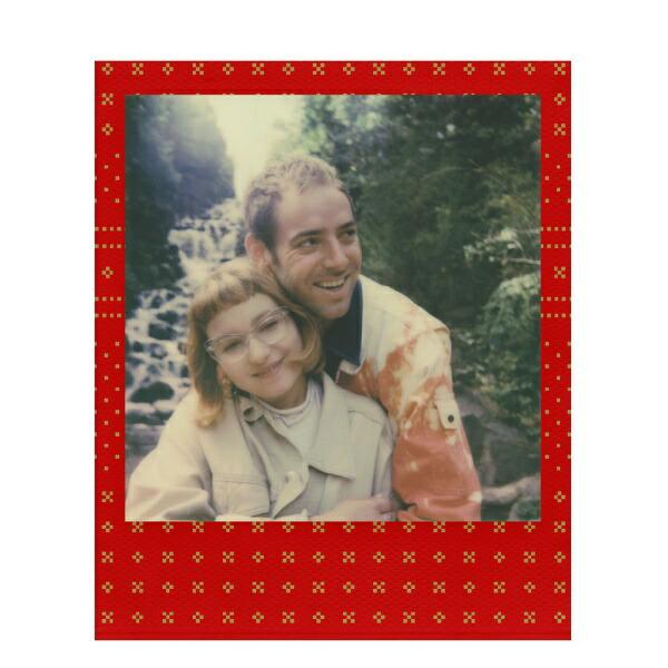 Festive Red Polaroid Originals Colour Film for 600