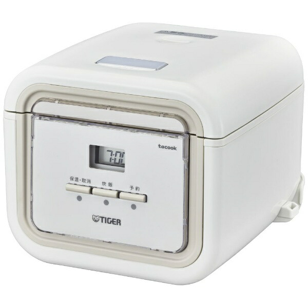 タイガーTIGERJAJ-G550-WN炊飯器炊きたてtacook(タクック)ナチュラルホワイト[3合/マイコン][JAJG550]