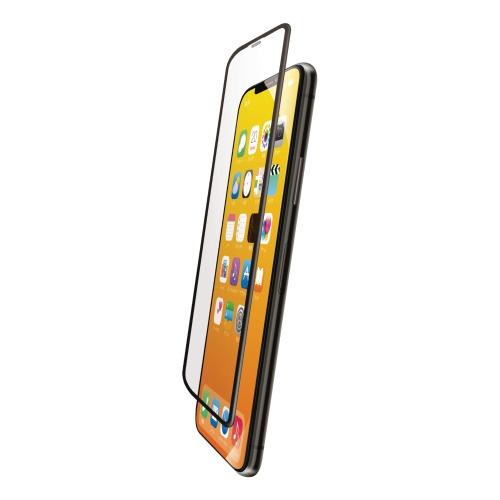 エレコムELECOMiPhone11Proフルカバーガラスフィルムフレーム付ブラックPMCA19BFLGFRBK