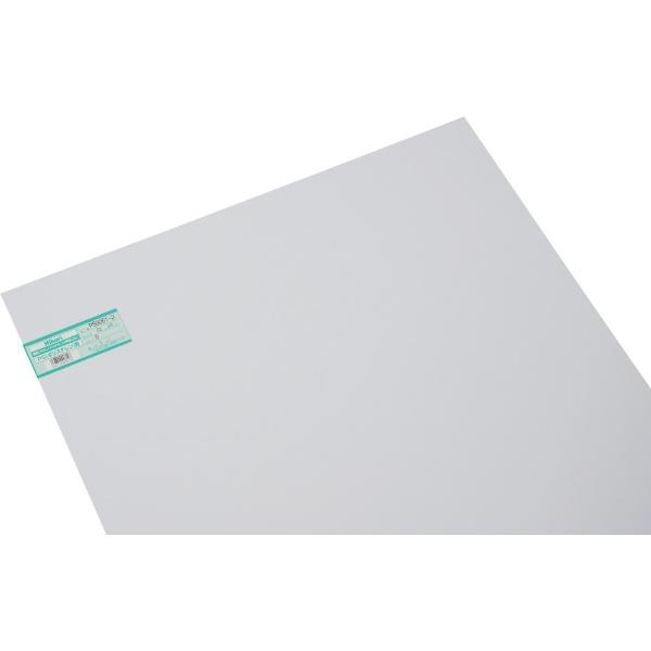 光HIKARI光ポリスチレン板白600×900×1.0mmPS9061-2