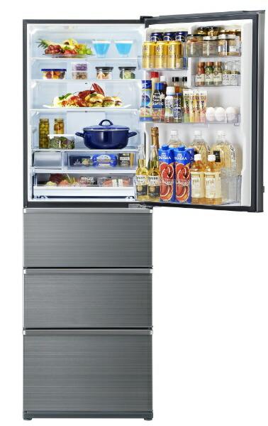 AQUAアクア《基本設置料金セット》AQR-V46J-S冷蔵庫Delie(デリエ)チタニウムシルバー[4ドア/右開きタイプ/458L][冷蔵庫大型AQRV46J_S]