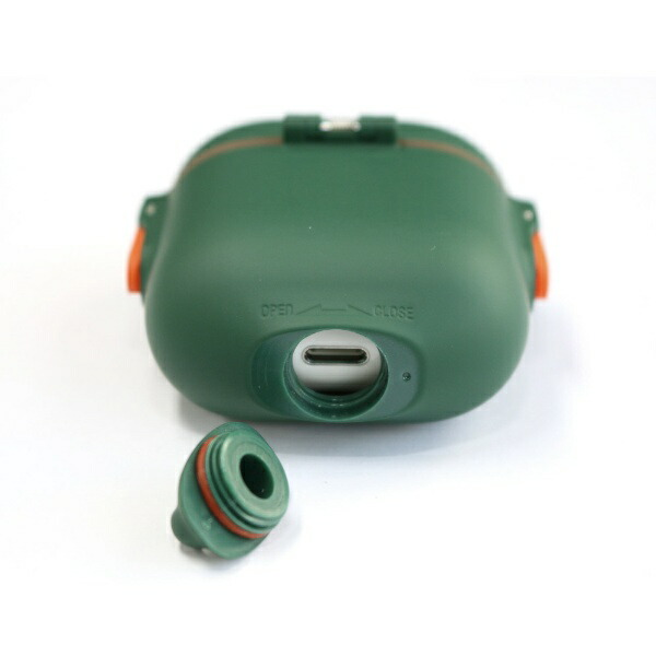 ROAロア耐衝撃&防水AirPodsケースMUVITACTIVEアーミーグリーンMUVIT