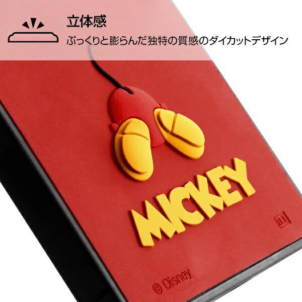 イングレムIngremXperia8『ディズニーキャラクター』/耐衝撃ハイブリッドケースシリコンKAKU/ミッキーIS-DXP8KOS2/MK1ミッキー
